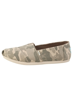 Toms ALPARGATA CAMO PRINT Women Slip On Shoes in Taupe Grey