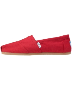 Toms CLASSIC Women Slip On Shoes in Red