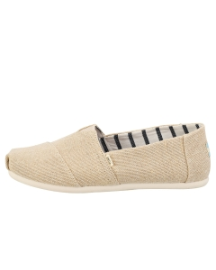Toms CLASSIC UNBLEACHED HERITAGE Men Slip On Shoes in Beige
