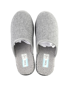 Toms HARBOR Men Slippers Shoes in Smoke Grey