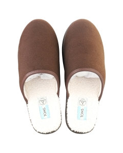 Toms HARBOR Men Slippers Shoes in Chocolate