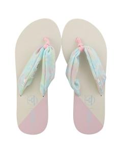 Toms PIPER Women Beach Sandals in White Multicolour