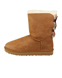 UGG BAILEY BOW 2 Women Casual Boots in Chestnut