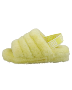 UGG FLUFF YEAH SLIDE Women Slippers Sandals in Neon