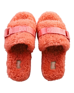 UGG FLUFFITA Women Slippers Sandals in Pink Blossom