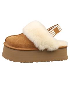 UGG FUNKETTE Women Slippers Sandals in Chestnut