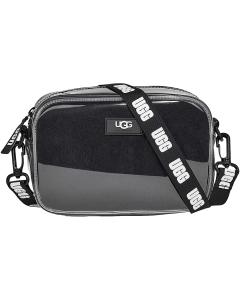 UGG JANEY II CLEAR SHEEPSKIN Shoulder Bag in Black