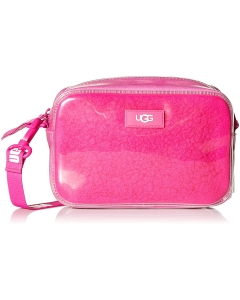UGG JANEY II CLEAR SHEEPSKIN Shoulder Bag in Pink