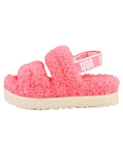 UGG OH FLUFFITA Women Slippers Sandals in Pink Rose