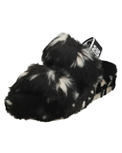 UGG OH YEAH SPOTS Women Slippers Sandals in Black