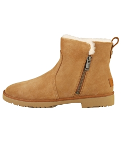 UGG ROMELY ZIP Women Casual Boots in Chestnut