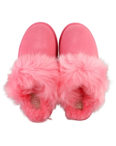 UGG SCUFF SIS Women Slippers Shoes in Pink Rose