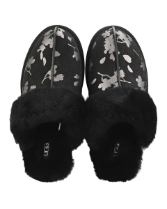 UGG SCUFFETTE 2 FLORAL FOIL Women Slippers Shoes in Black Floral