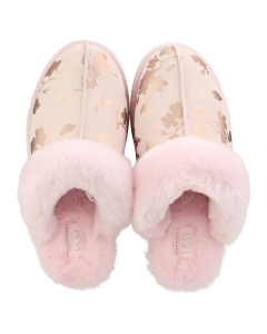 UGG SCUFFETTE 2 FLORAL FOIL Women Slippers Shoes in Pink