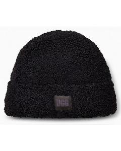 UGG SHERPA CUFF BEANIE Hat in Black