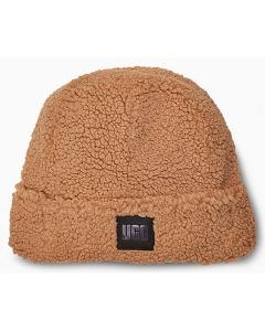 UGG SHERPA CUFF BEANIE Hat in Caramel