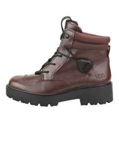 UGG TIOGA HIKER Women Casual Boots in Burgundy